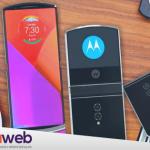 Lenovo usa la recreación de un fan para mostrar su Motorola Razr plegable